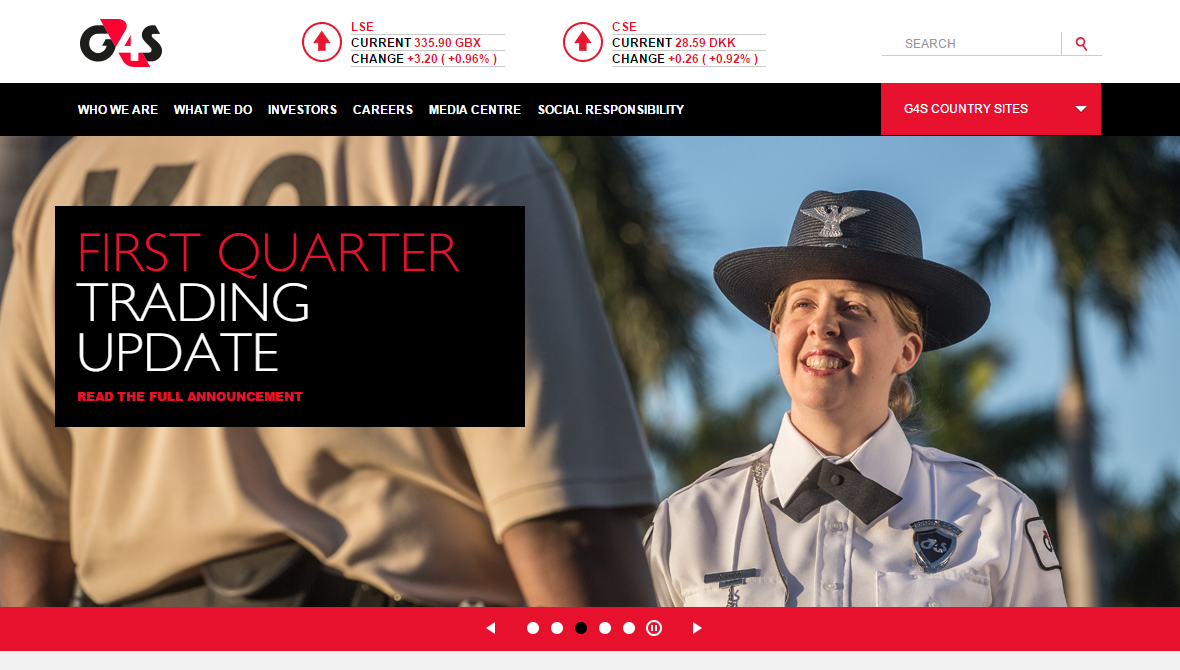 G4S Home Page